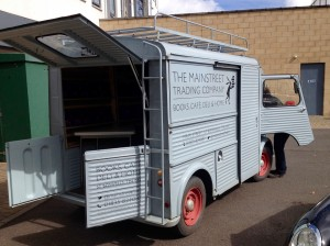 Mainstreet Trading's Fire Engine Bookshop, Scottish Borders