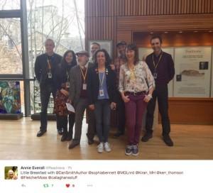 Chicken House Authors in Edinburgh