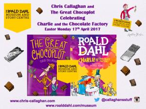 The Great Chocoplot, Chris Callaghan, Roald Dahl, Museum