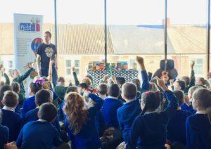 Northern Children's Book Festival, The Great Chocoplot, Chris Callaghan, Gareth P Jones, Wallsend Library