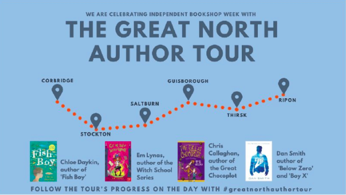 Great North Author Tour, The Great Chocoplot, Chris Callaghan