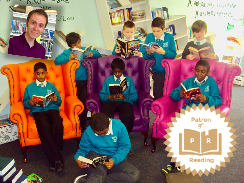 West Thornton, Patron of Reading, Chris Callaghan, The Great Chocoplot
